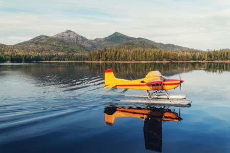 EY - Plane landing on water